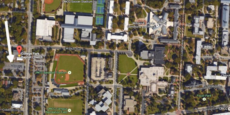 Parking for UNC-Greensboro