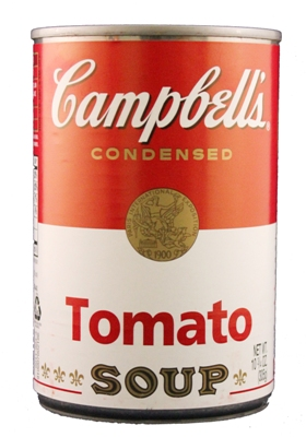 This image has an empty alt attribute; its file name is Soup-can.jpg